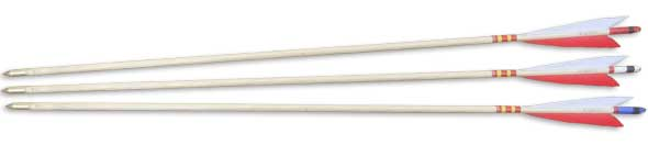 Traditional Field Arrows - Set of 3